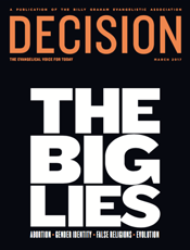 Decision Magazine March 2017